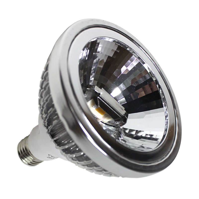 Lámpara LED PAR38,  E27 COB,  24W, Blanco frío, Regulable